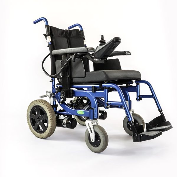 power-chair-blue-folding-3-pre-loved-second-hand-equipment-by-sitwell-technologies